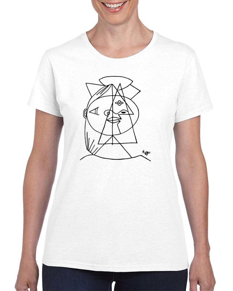 CUBIC SKETCH T Shirt