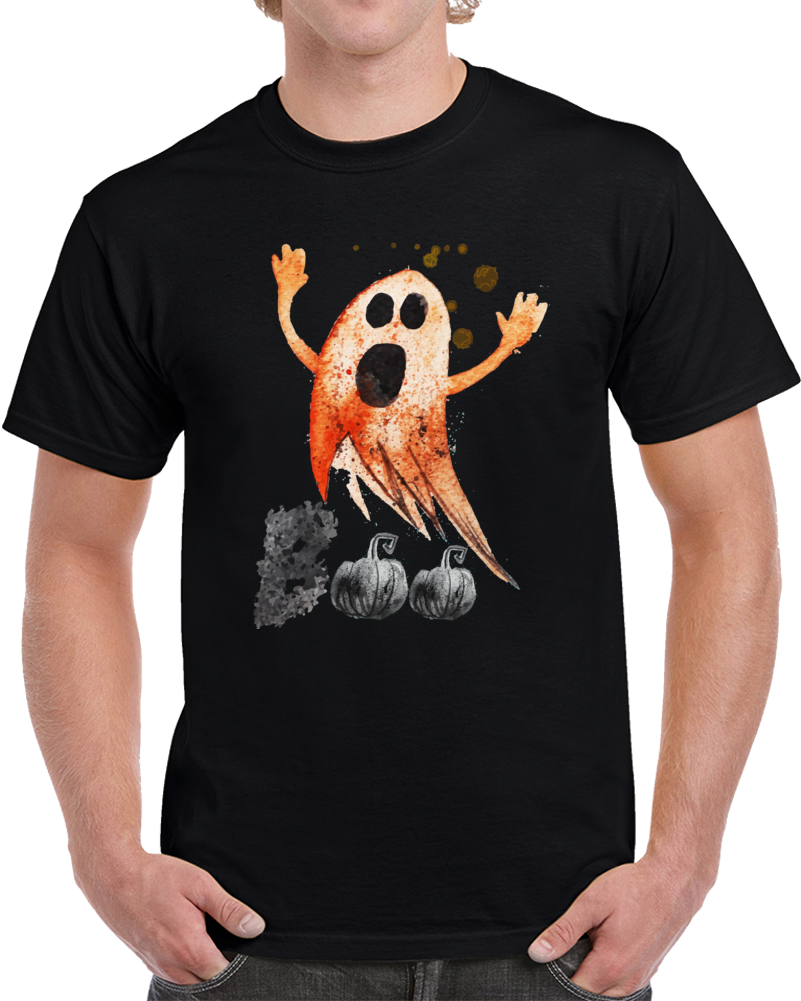 Ghost Painted T Shirt