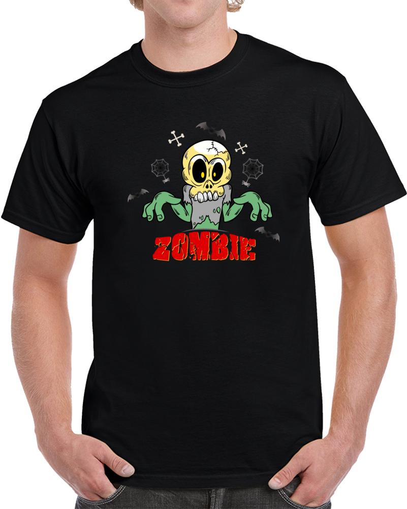 Skull Zombie T Shirt