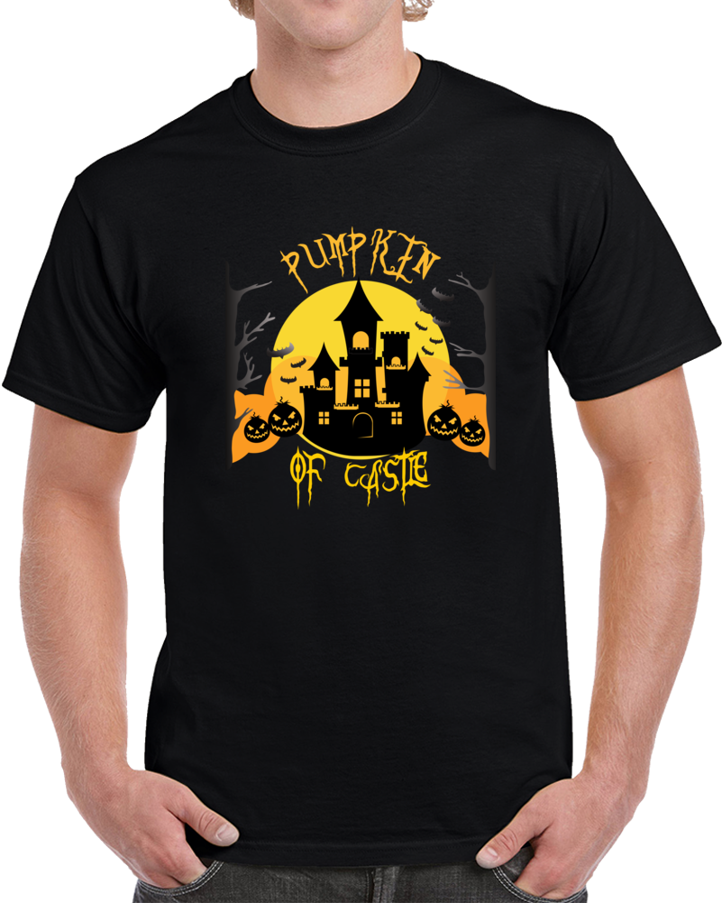Pumpkin Of Castle T Shirt