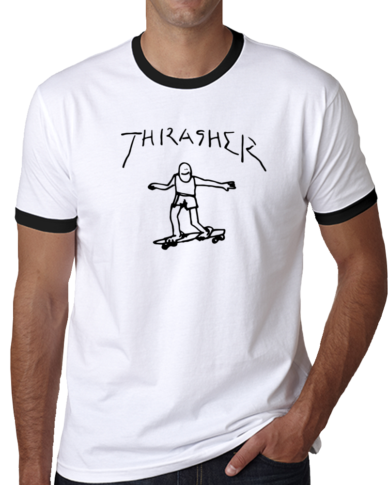 thrasher stick figure T Shirt