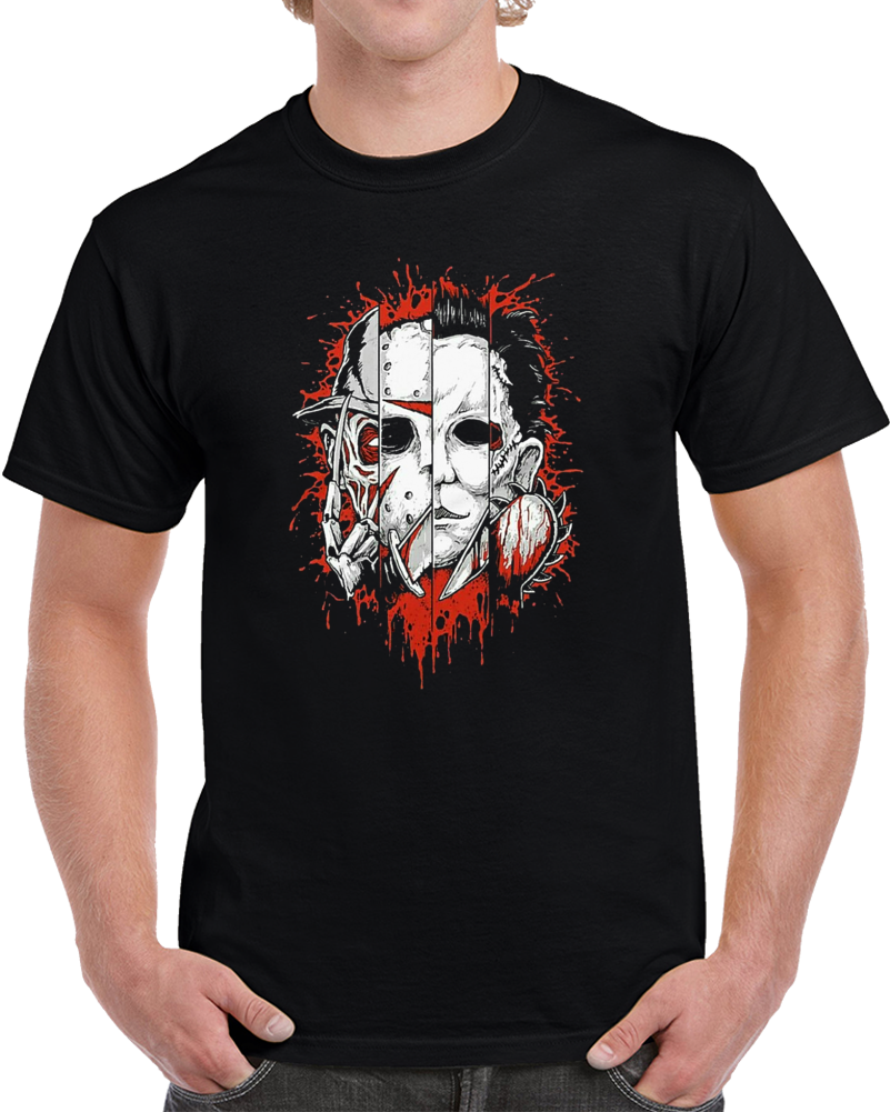 jason freddy michael leatherface T Shirt