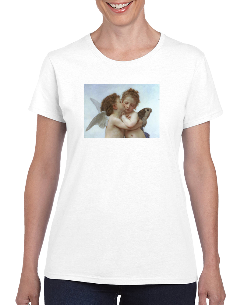 william bouguereau the first kiss T Shirt
