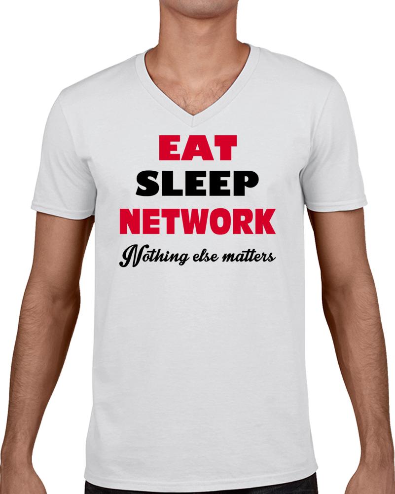 Eat Sleep Network T Shirt