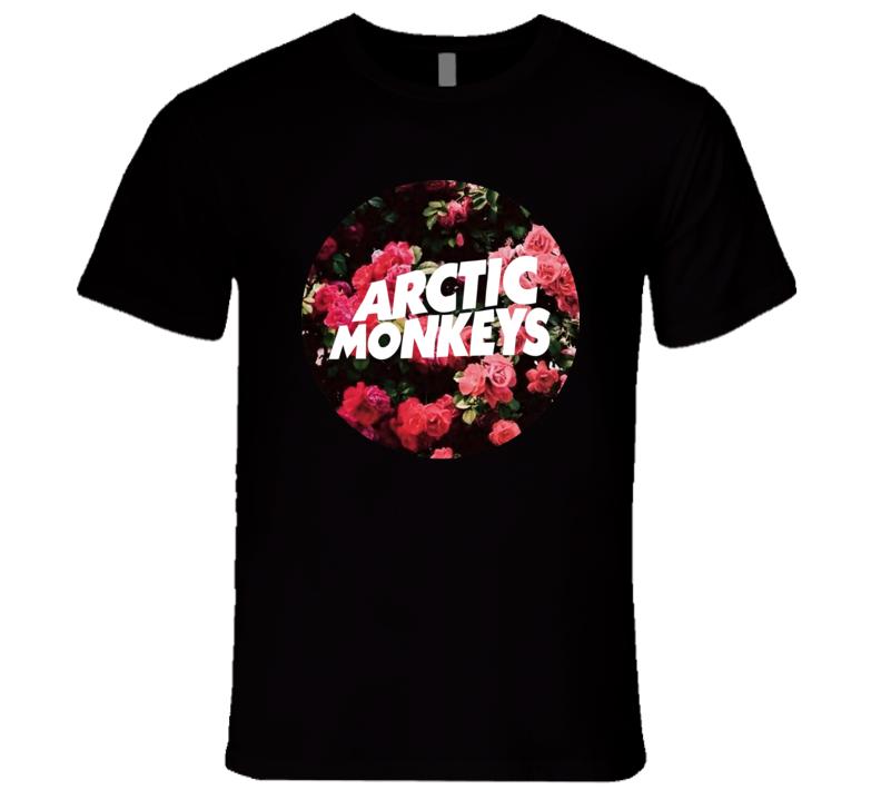 Arctic Monkeys Flower T Shirt