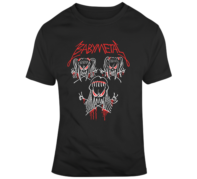 Babymetal Tour T Shirt