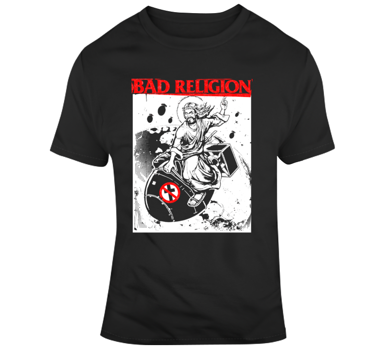 Bad Religion Bomb Rider T Shirt