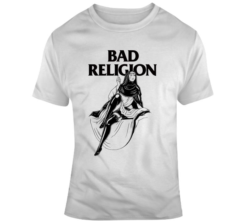 Bad Religion Nun T Shirt