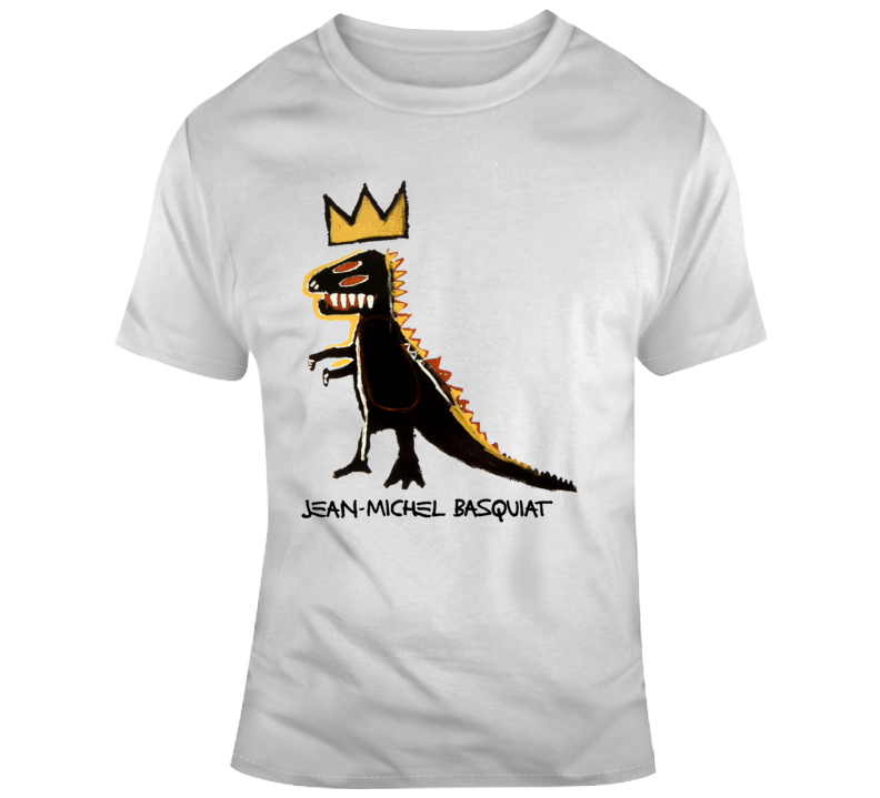Basquiat Dinosaur Crown T Shirt