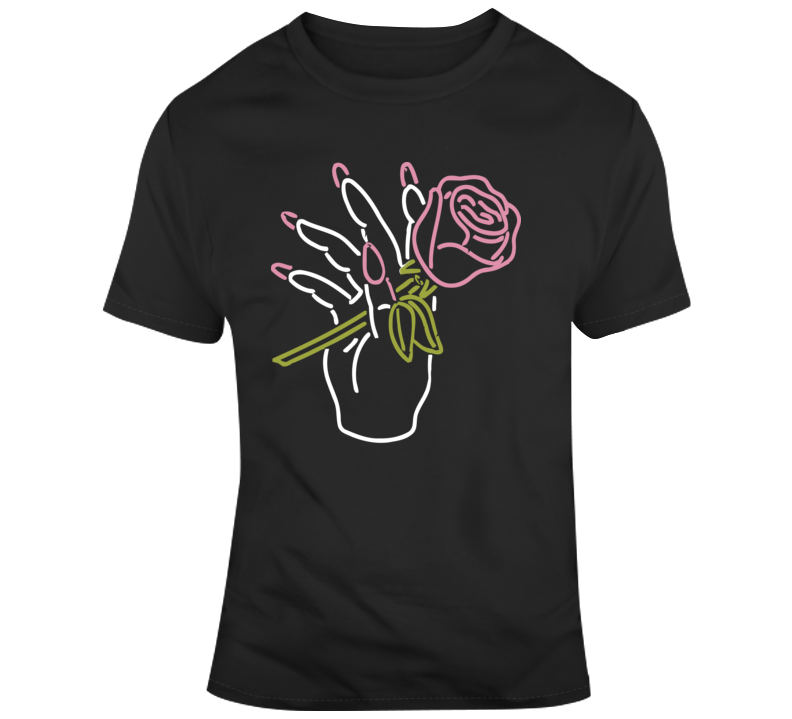 Big Bud Press Nail Salon Neon T Shirt