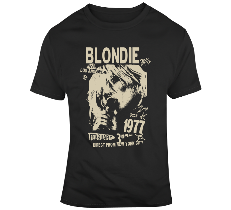 Blondie La 1977 T Shirt