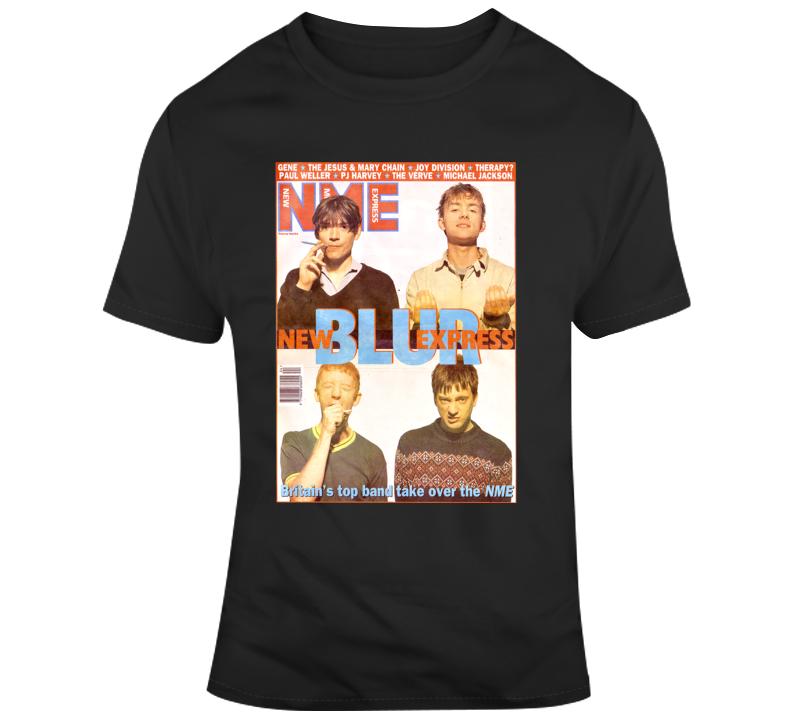 Blur Nme Band T Shirt