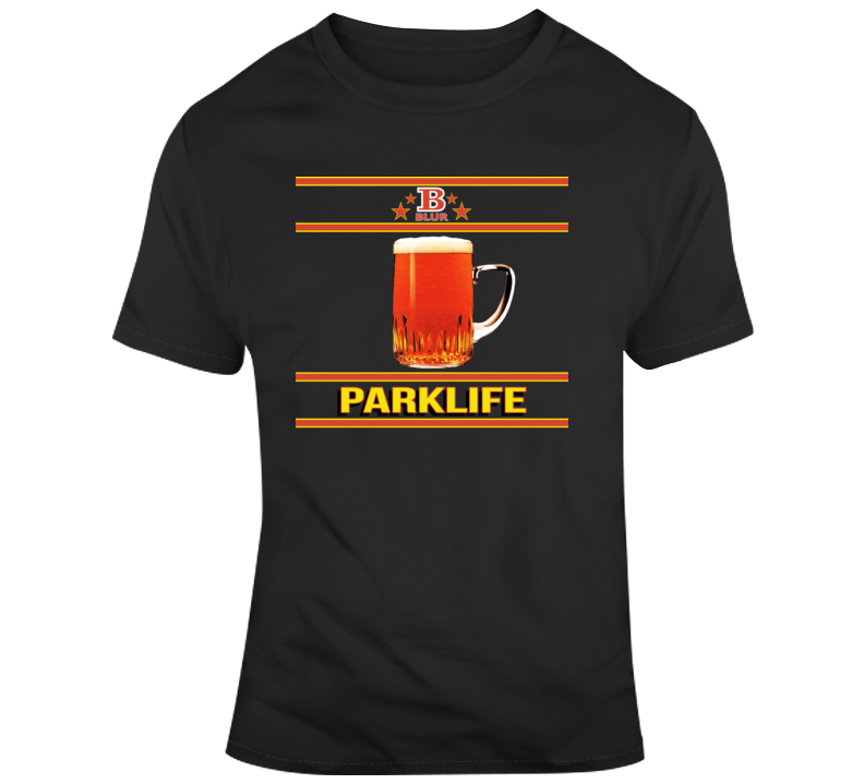 Blur Parklife B Logo Band Irish Green T Shirt