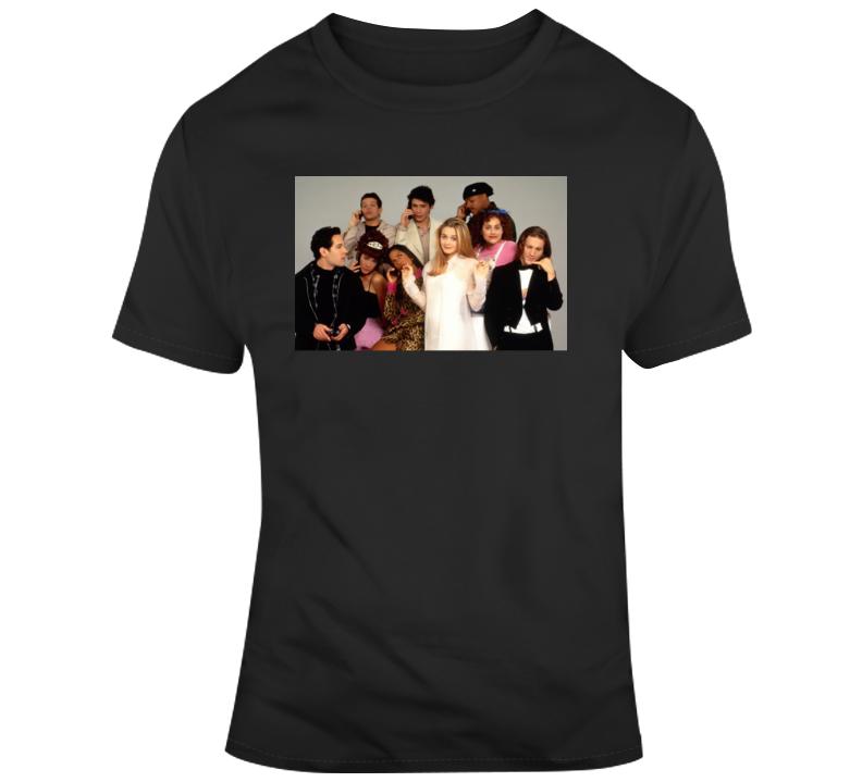 Clueless Cast T Shirt
