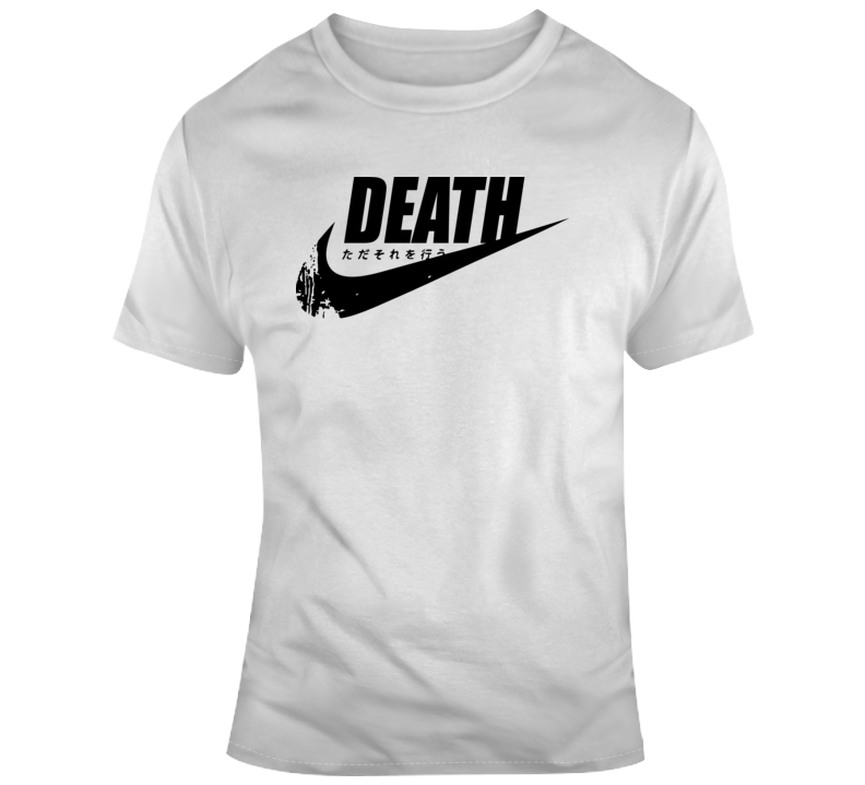 Death Girl Just Do It Japanese T Shirt