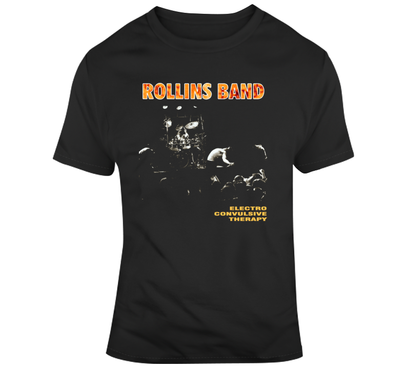 Electro Convulsive Therapy Rollins Band T Shirt