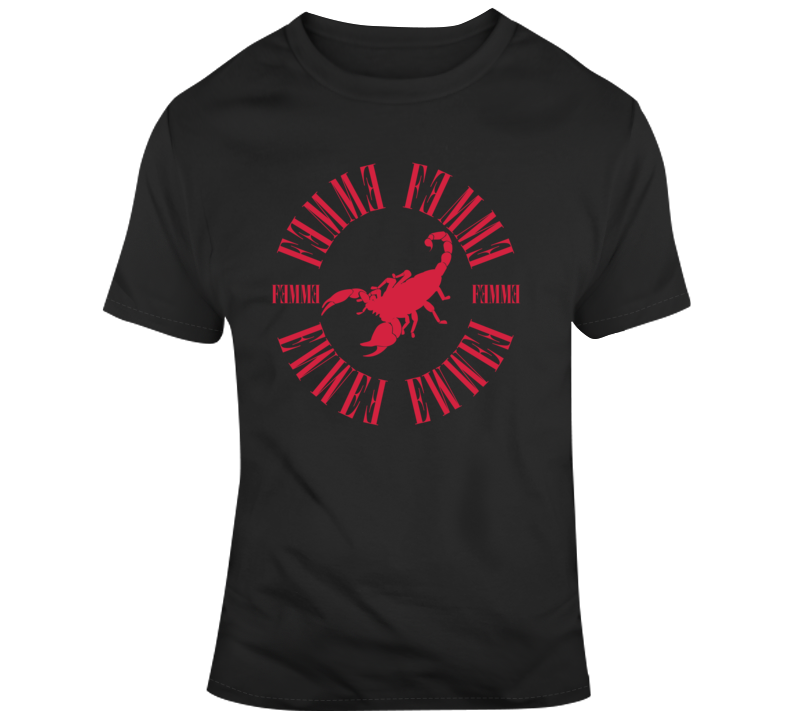 Femme scorpion T Shirt