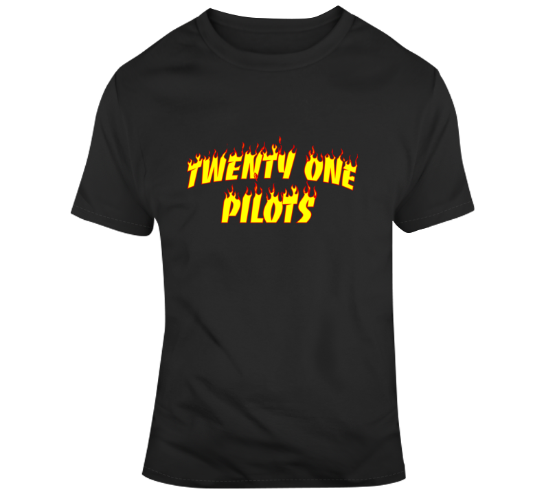 Flame Twenty One Pilots T Shirt