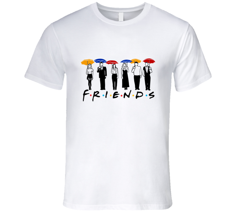 Friends Umbrella T Shirt