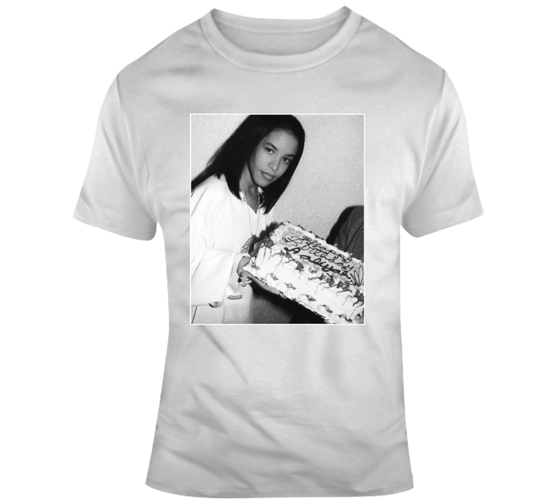 Happy Birthday Aaliyah T Shirt