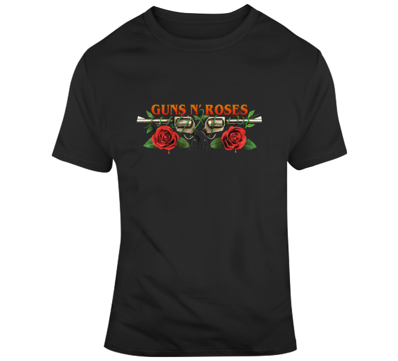 Guns_n_roses Logo Band T-shirt