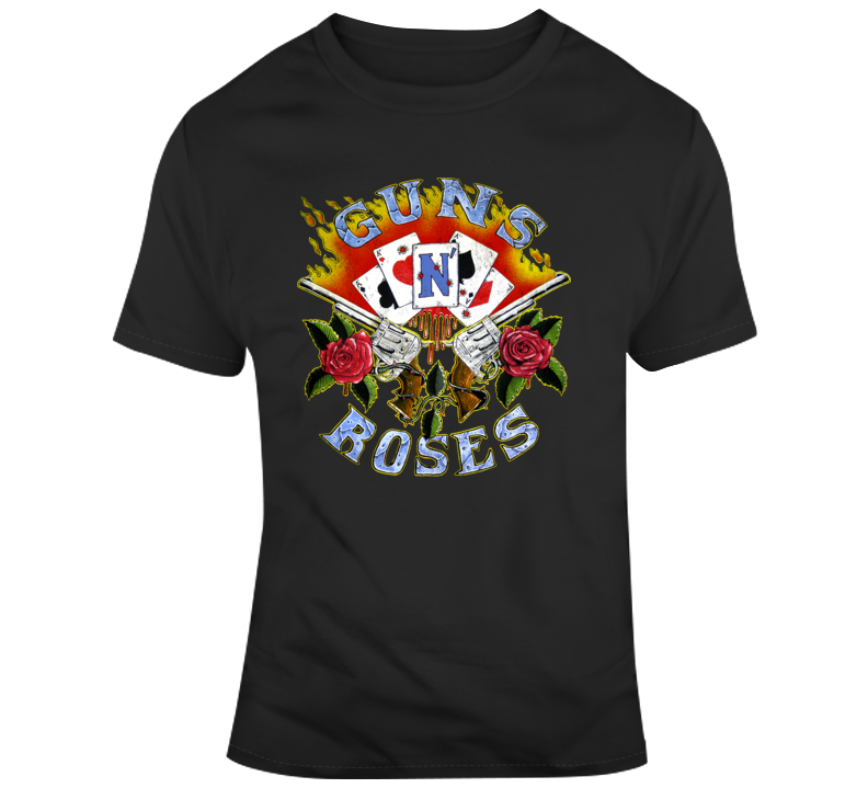 Guns N_roses Band T Shirts