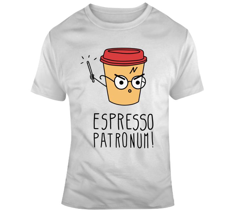 Harry Potter Espresso Patronum Funny T Shirt