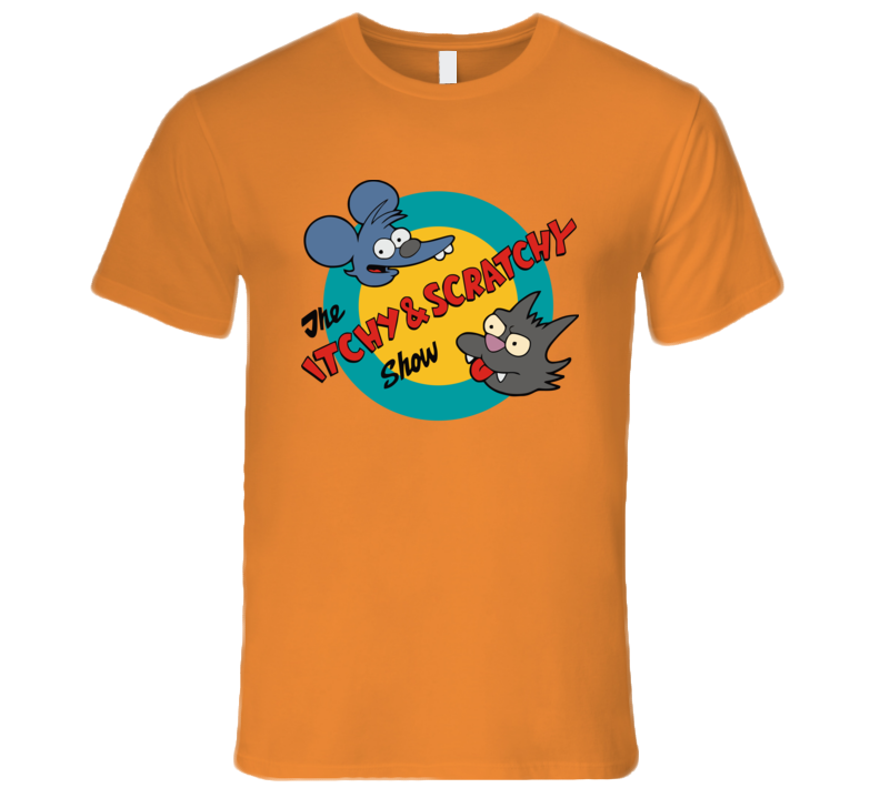 Itchy And Scratchy T Shirt