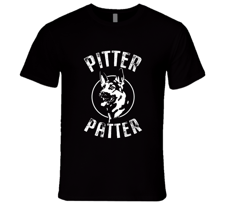 Funny Pitter Patter T Shirt Arch logo T-Shirt