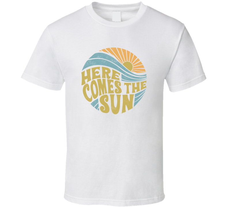 Summer Here Comes The Sun Vintage T Shirt