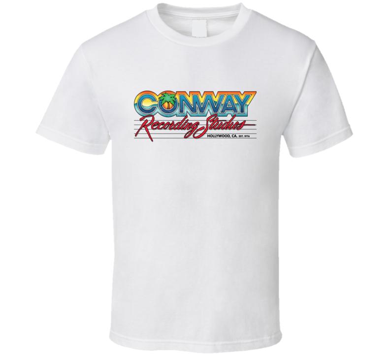 Conway Recording Studios Hollywood T Shirt
