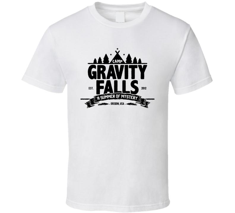 Camp Gravity Fall T Shirt