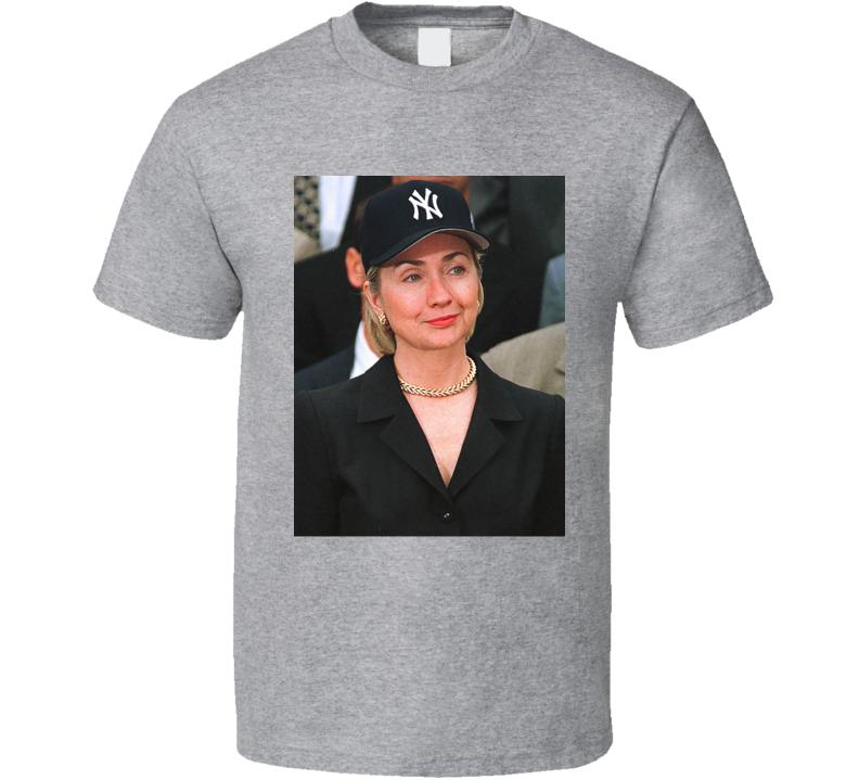 Hillary Clinton Yankees  Rihanna T Shirt
