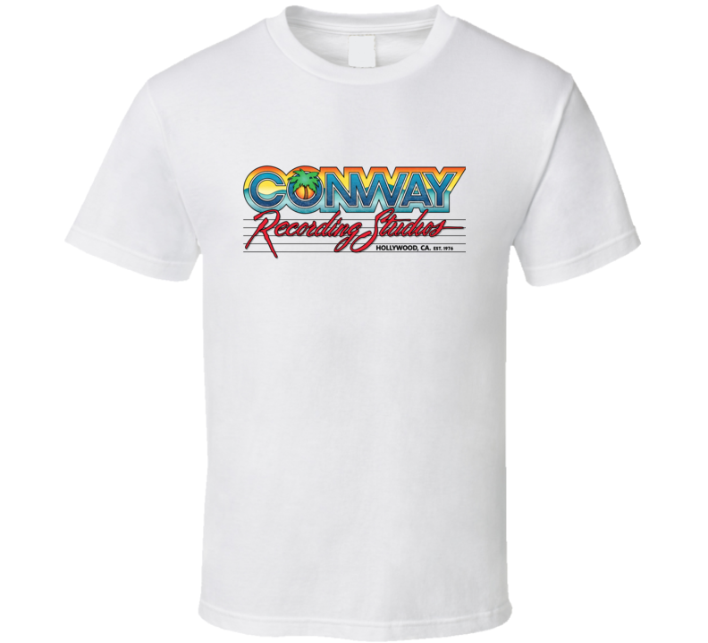 Conway Recording Studios Hollywood White T Shirt