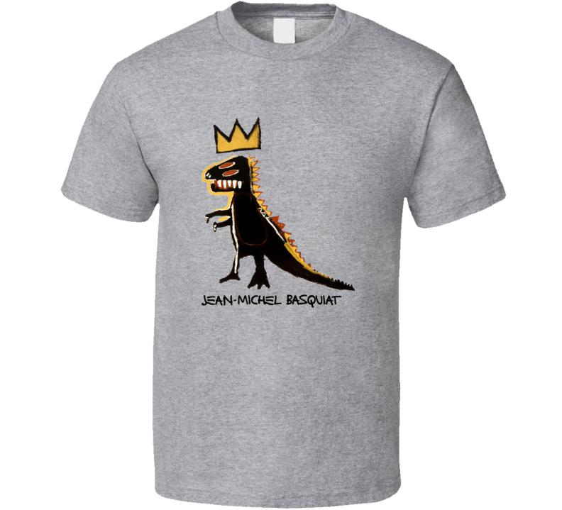 Basquiat Dinosaur Crown T Shirt