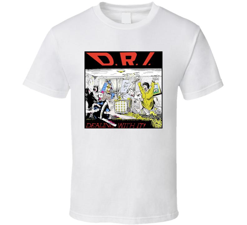Dri Dirty Rotten Imbeciles Band T Shirt