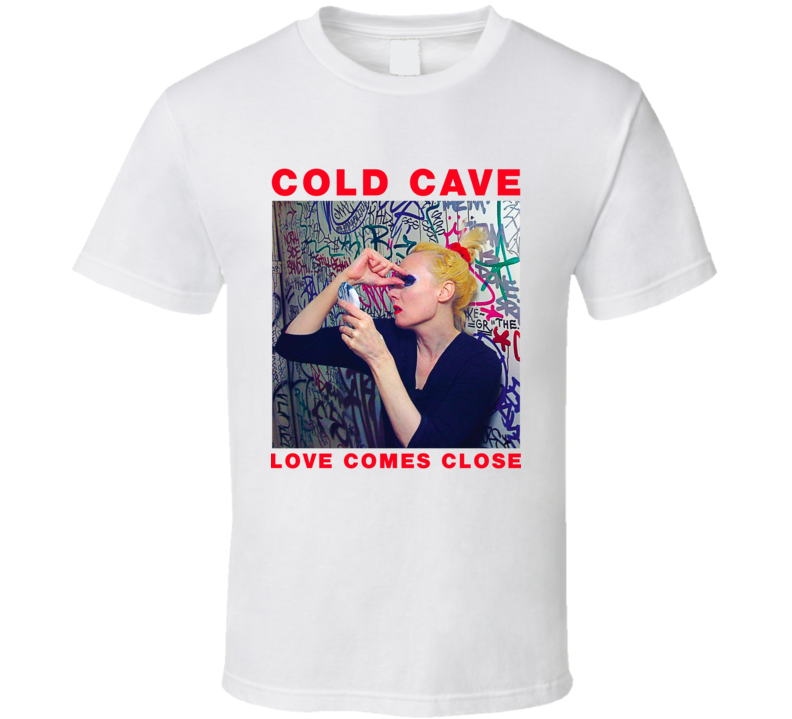 Cold Cave Love Comes Close Band T Shirt