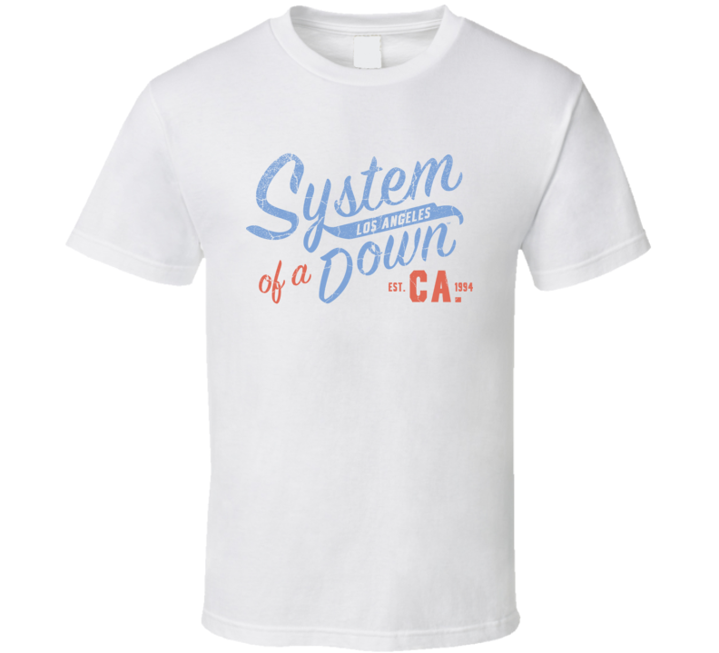 System Of A Down Band T Shirt
