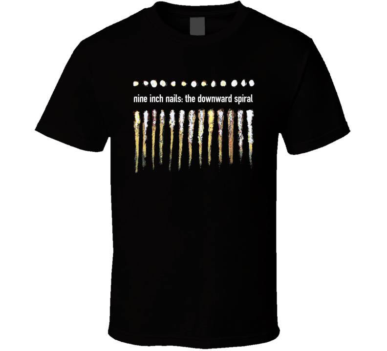 Nin Nine Inch Nails The Downward Spiral Band T Shirt