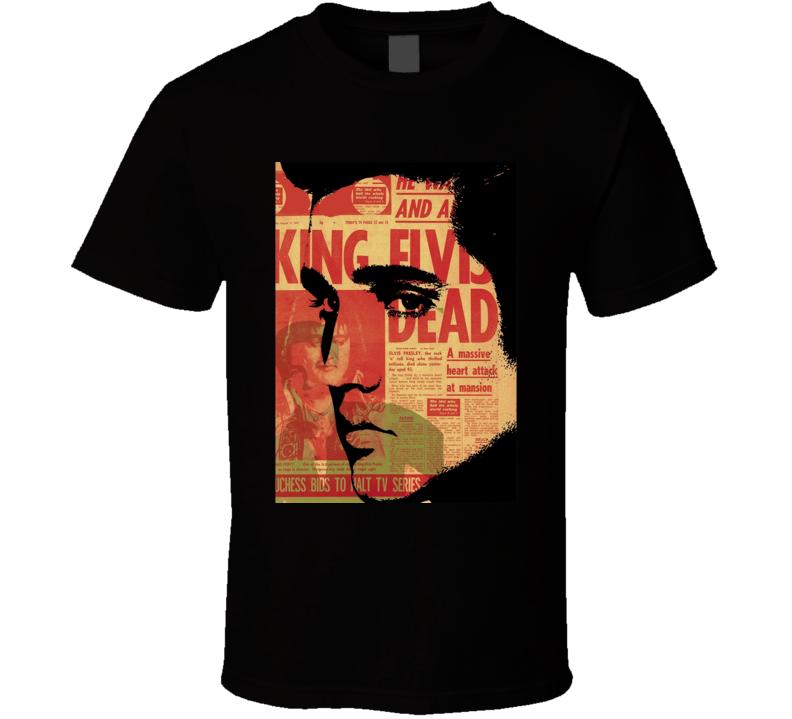 Dead Elvis Band T Shirt