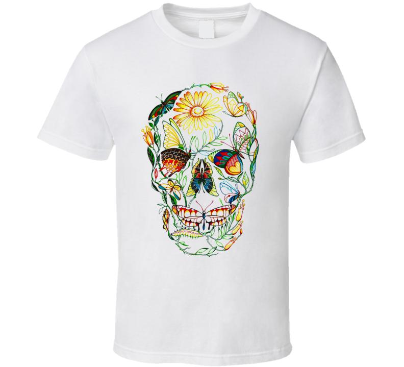 Skull Nature T Shirt