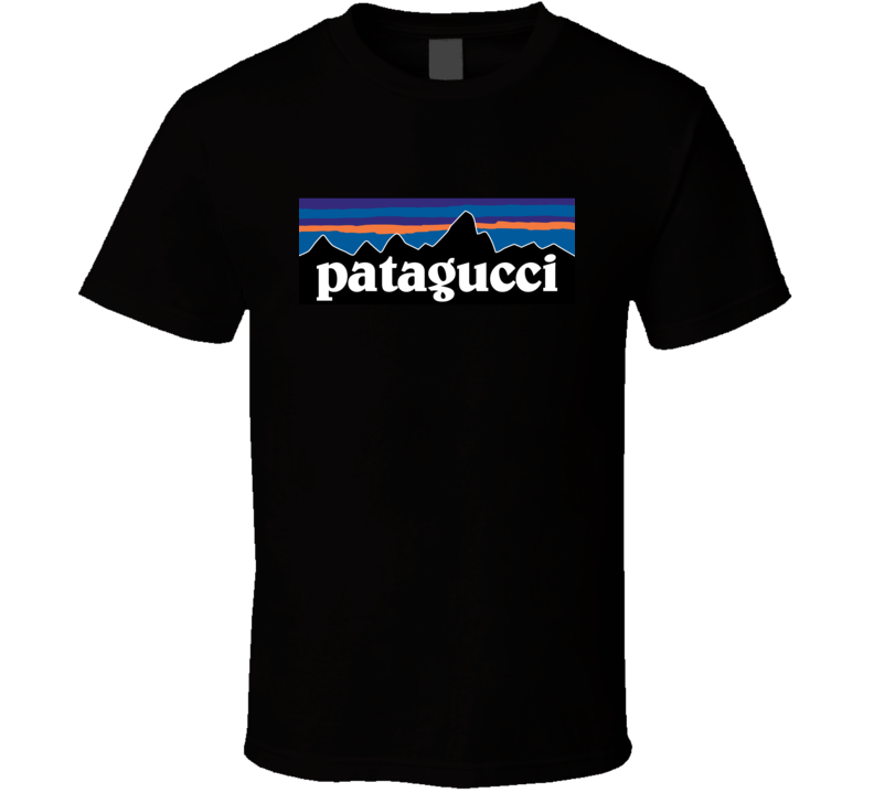 Patagucci Black T Shirt