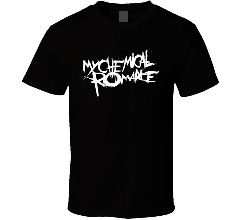 My Chemical Romance Logo Band T Shirt