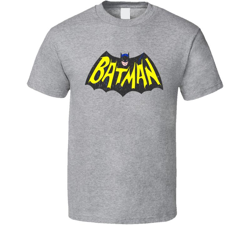 Batman Classic Tv Series Show Logo T Shirt