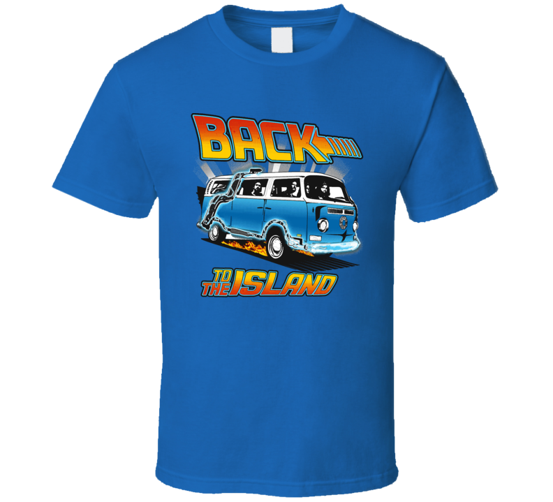 Back To The Island T Shirt