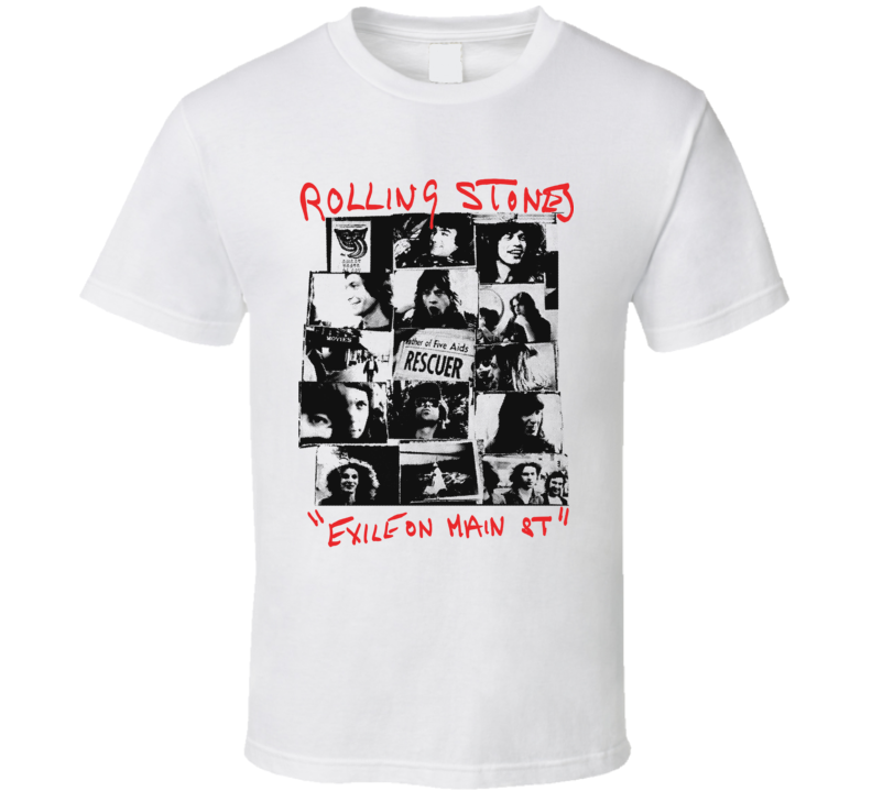 Rolling Stones Exile Band T Shirt