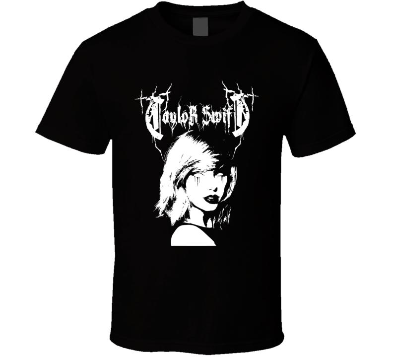 Taylor Swift Metal Band T Shirt