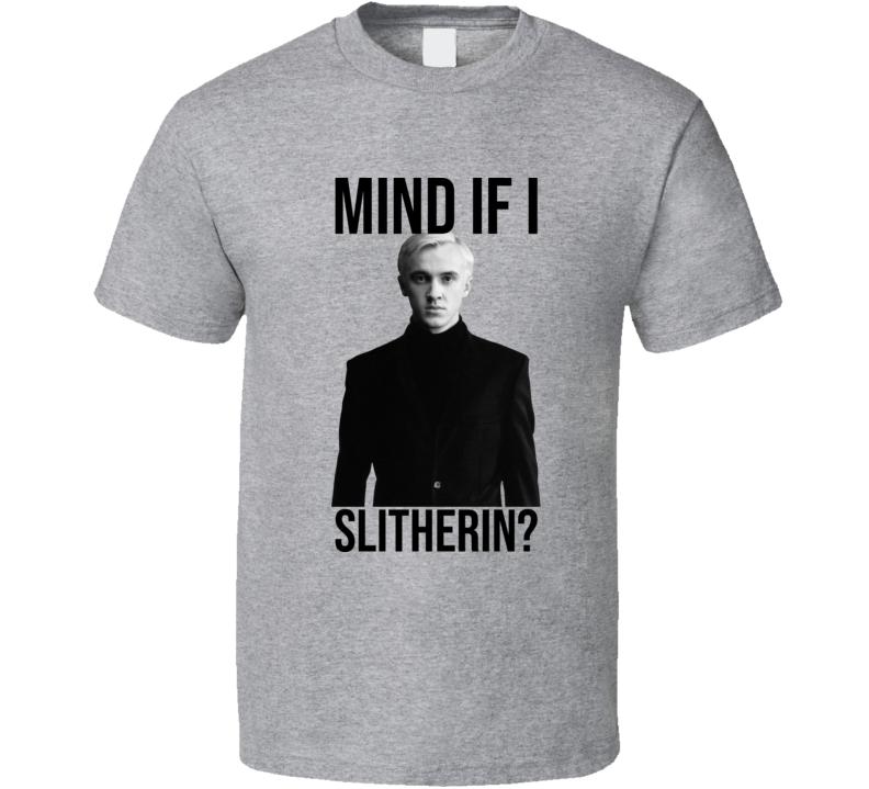 Mind If I Slytherin Sport Grey T Shirt