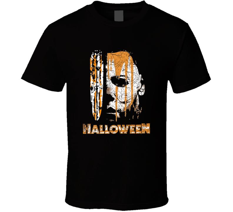 Halloween Michael Myers Graphic T Shirt