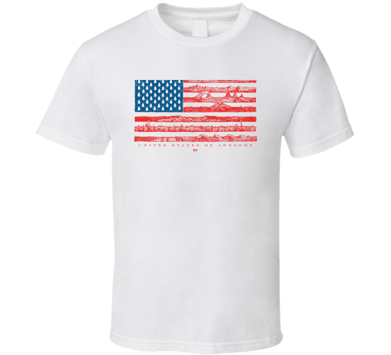 United States Of Awesome T Shirt